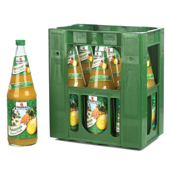 Wolfra Ananas 6 x 1l