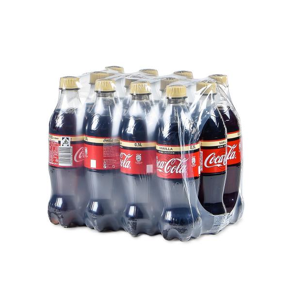 Coca-Cola Zero Sugar Vanilla 12 x 0,5l