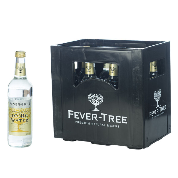 Fever Tree Indian Tonic Water 24 x 0,2l