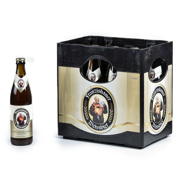 Franziskaner Weißbier Hell 11 x 0,5l