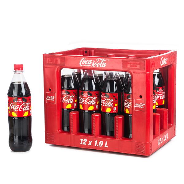 Coca Cola in der 1l PET Flasche