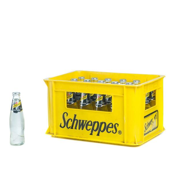 Schweppes Soda Water 24 x 0,2l