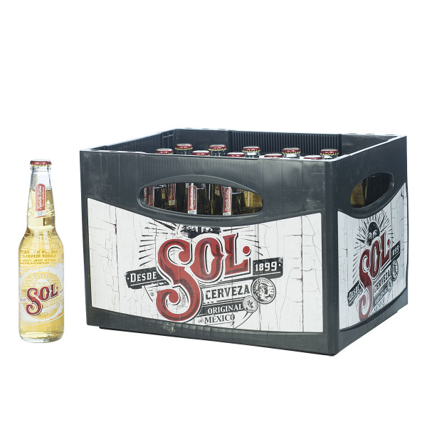 Sol Tequila Beer 24 x 0,33l