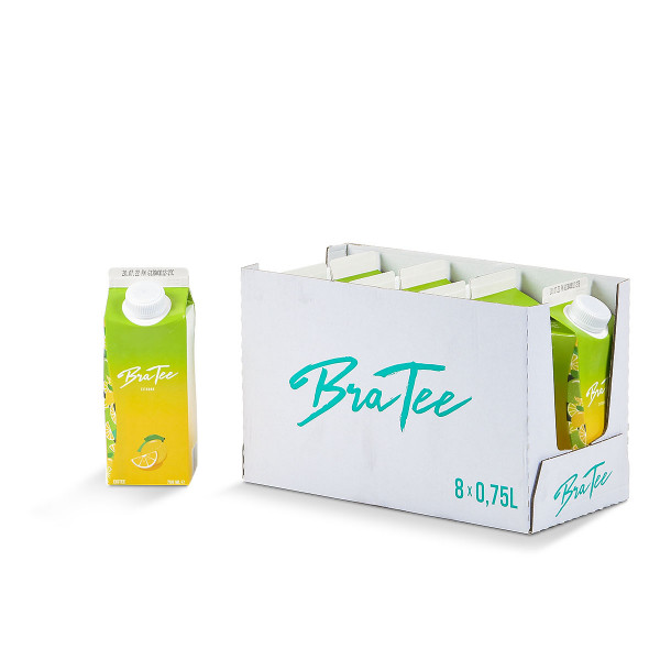 BraTee Zitrone 8 x 0,75l