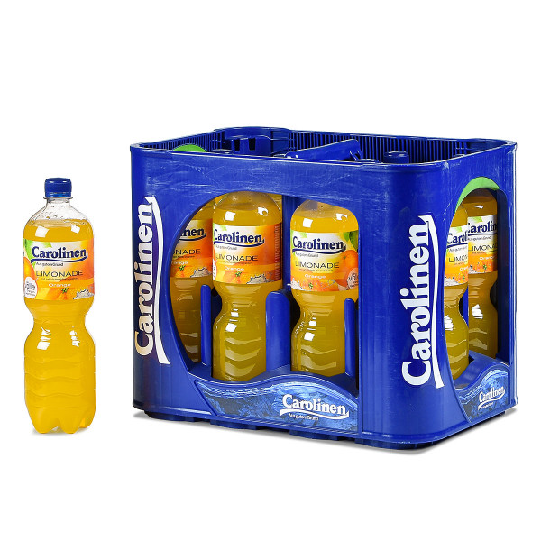 Carolinen Orange 12 x 1l