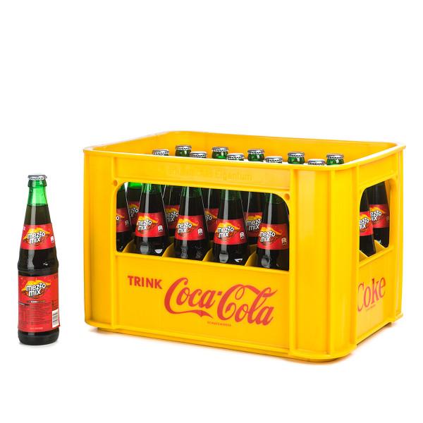 Coca Cola Mezzo Mix in der 0,33l Glasflasche