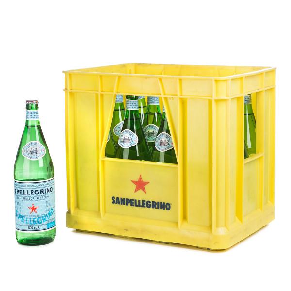 San Pellegrino Mineralwasser in der 1l Glasflasche
