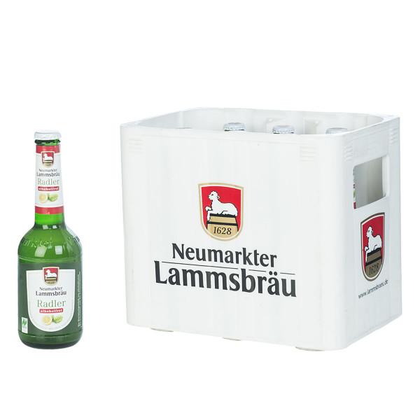 Lammsbräu alkoholfreies Radler Bio 10 x 0,33l
