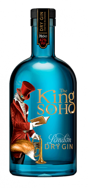 The King of Soho Dry Gin 0,7l