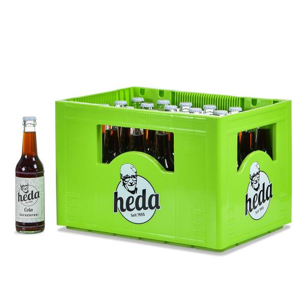 Heda Cola Zuckerfrei 24 x 0,33l