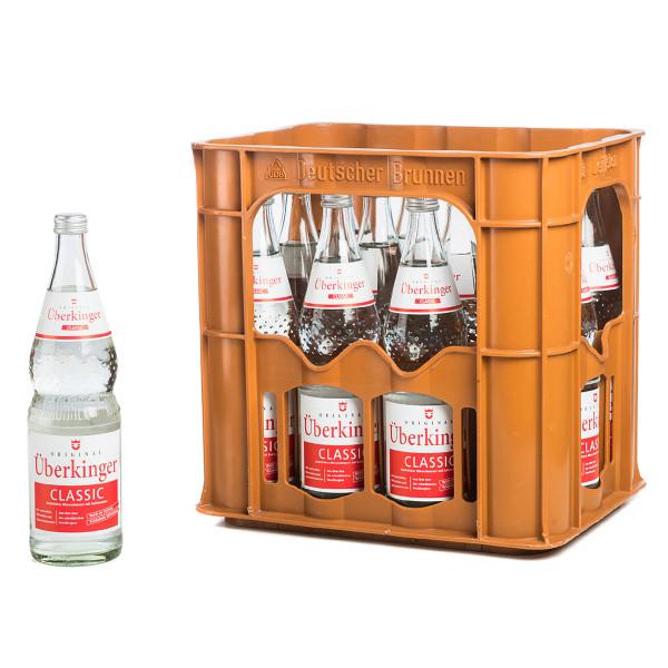 Überkinger Classic 12 x 0,75l Glas