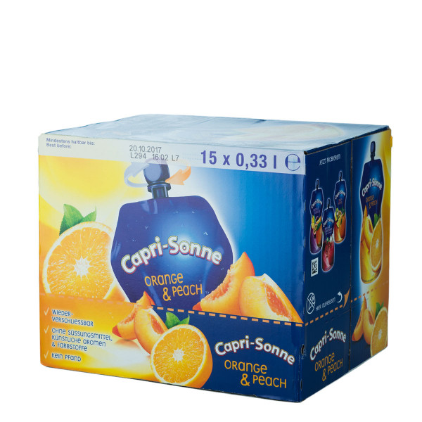 Capri-Sonne Orange-Peach 15 x 0,33l