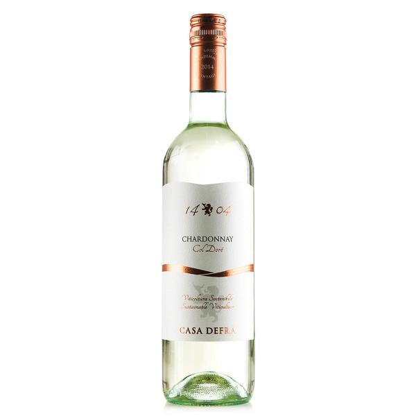 Casa Defra 1404 Chardonnay 2015 in der 0,75l Einzelflasche