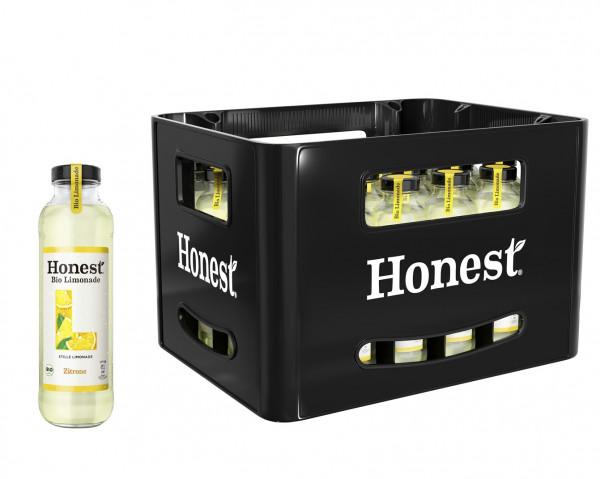 Honest Bio Limonade Zitrone 24 x 0,33l