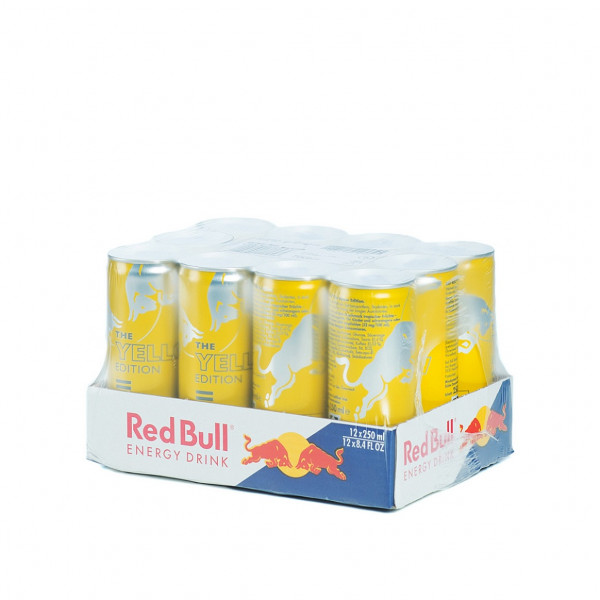 Red Bull Yellow Edition Tropical 12 x 0,25l