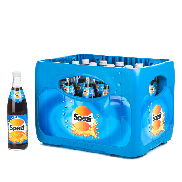 Spezi Original Cola Orange in der 0-5l Flasche