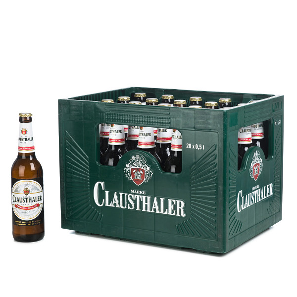 Clausthaler Classic 20 x 0,5l