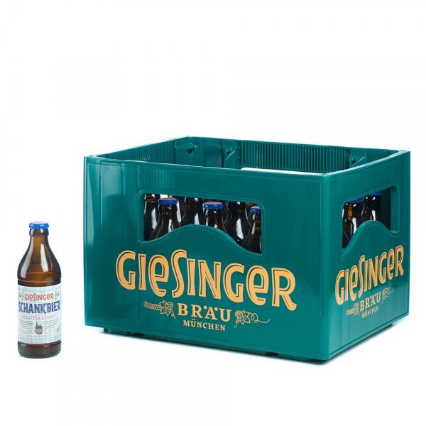 Giesinger Schankbier 20 x 0,33l