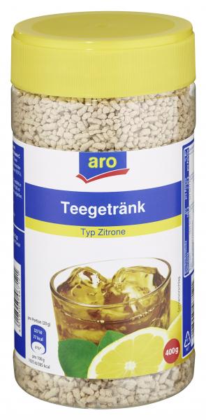 aro Teegetränk Zitrone 400 g Dose