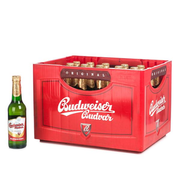 Budweiser Budvar Pils 24 x 0,33l