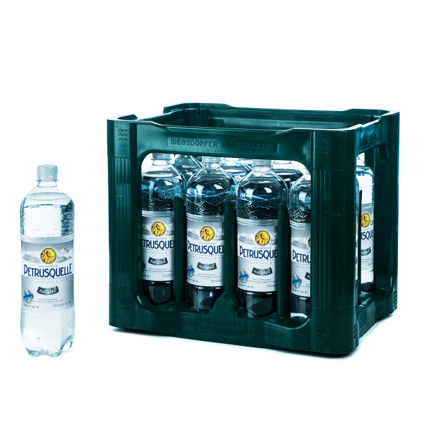 Petrusquelle Naturell 12 x 1l PET