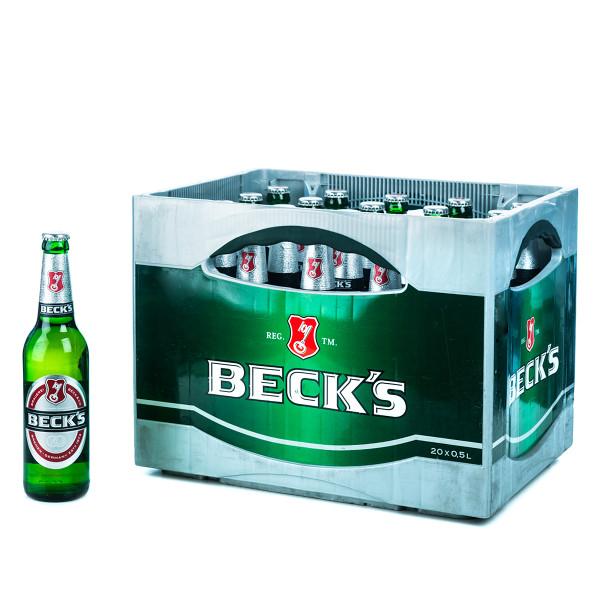 Becks Pilsener 20 x 0,5l