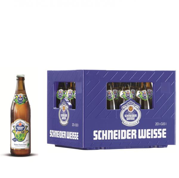 Schneider Weisse Meine Festweisse TAP4 20 x 0,5l