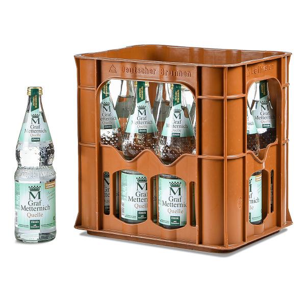 Graf Metternich Brunnen Classic 12 x 0,7l Glas