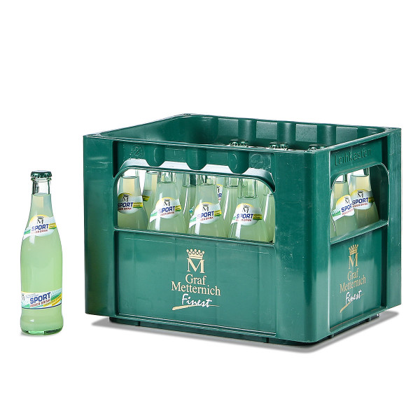 Graf Metternich Sport-Power-Drink 20 x 0,25l Glas