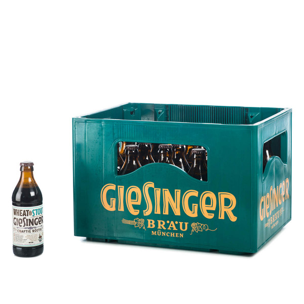 Giesinger Craft Wheat Stout 20 x 0,33l