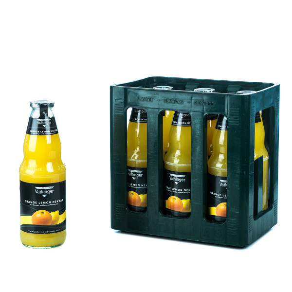 Vaihinger Orange Lemon 6 x 1l Glas