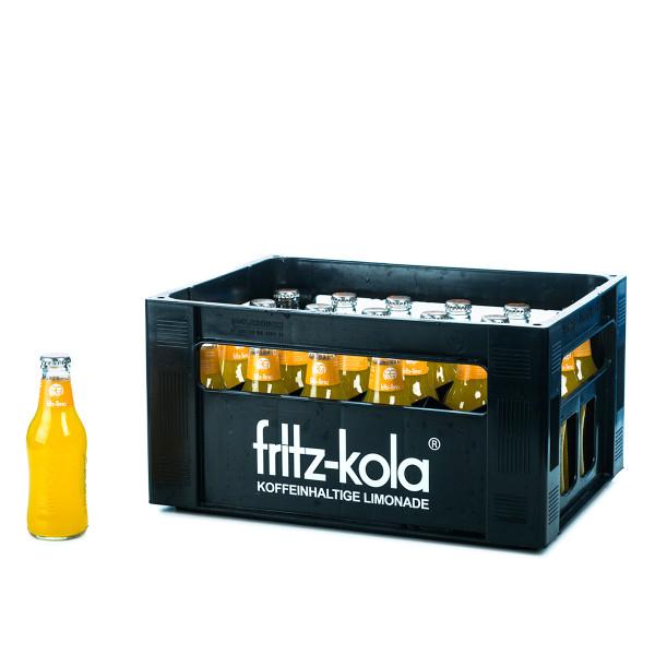 Fritz-Kola Orange 24 x 0,2l Glas