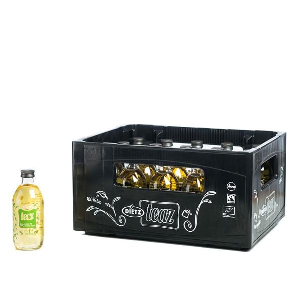 Dietz Bio Grüner Tee Zitrone Ingwer 20 x 0,33l
