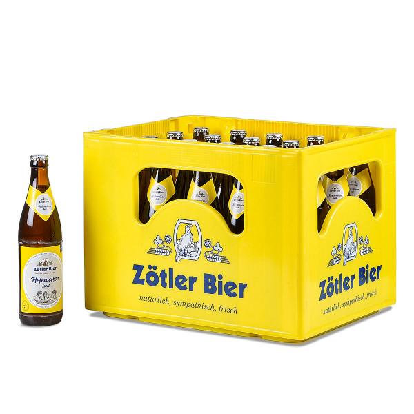 Zötler Hefe-Weißbier Hell 20 x 0,5l