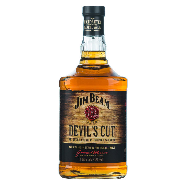 Jim Beam Devils Cut Bourbon Whiskey 1l