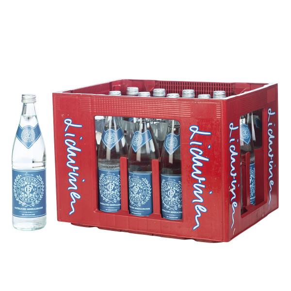 Pachmayr Mineralwasser spritzig 20 x 0,5l Glas