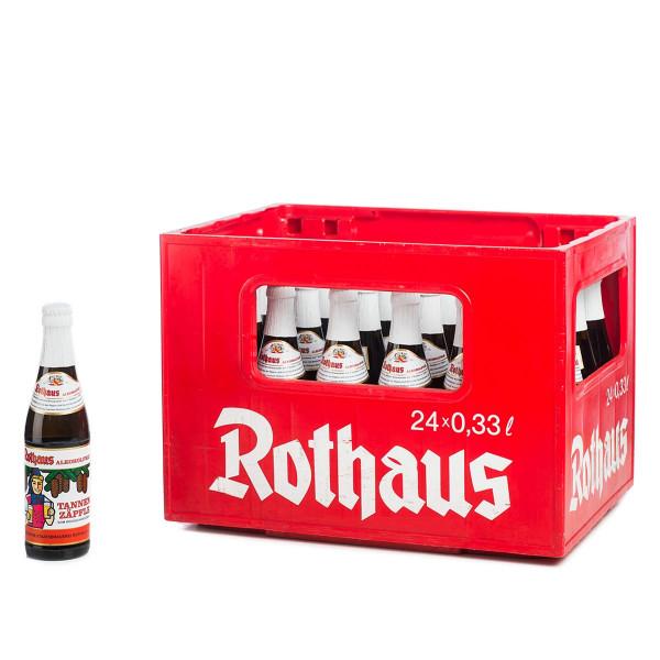 Rothaus Tannenzäpfle Alkoholfrei 24 x 0,33l