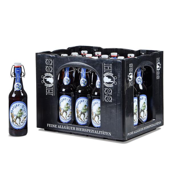 Höss Holzar Bier 20 x 0,5l Bügelflasche