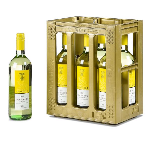 Kessler-Zink Sauvignon Blanc halbtrocken 6 x 1l