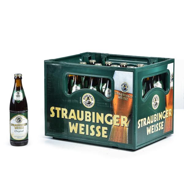Röhrl Straubinger Weisse Original 20 x 0,5l