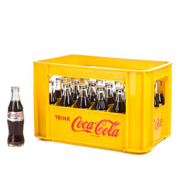 Coca Cola light in der 0,2l Glasflasche