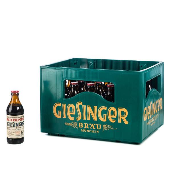 Giesinger Craft Baltic Rye Porter 20 x 0,33l