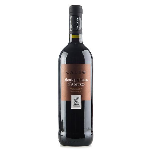 Caleo Montepulciano d'Abruzzo des Jahrgangs 2014 in der Glasflasche