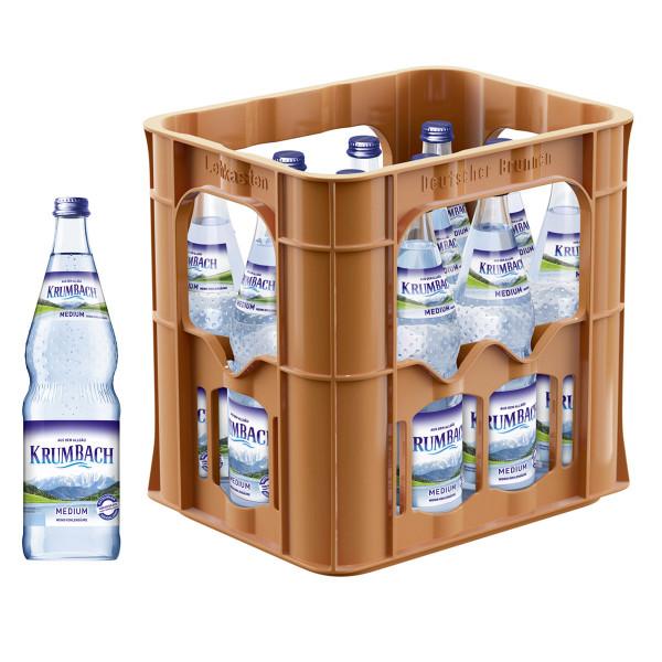 Krumbacher Medium 12 x 0,7l Glas