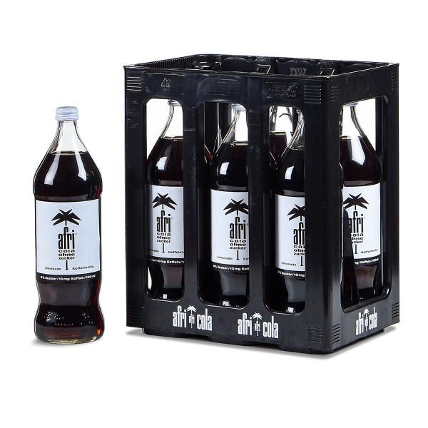 Afri Cola ohne Zucker 6 x 1l