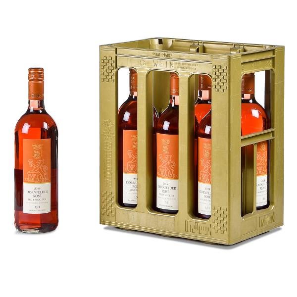 Kessler-Zink Dornfelder rosé QbA halbtrocken 6 x 1l