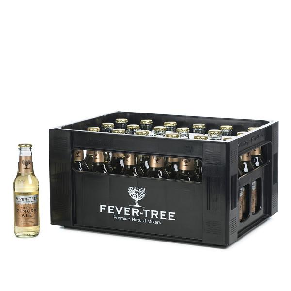 FeverTree Ginger Ale in der 0,2l Glasflasche