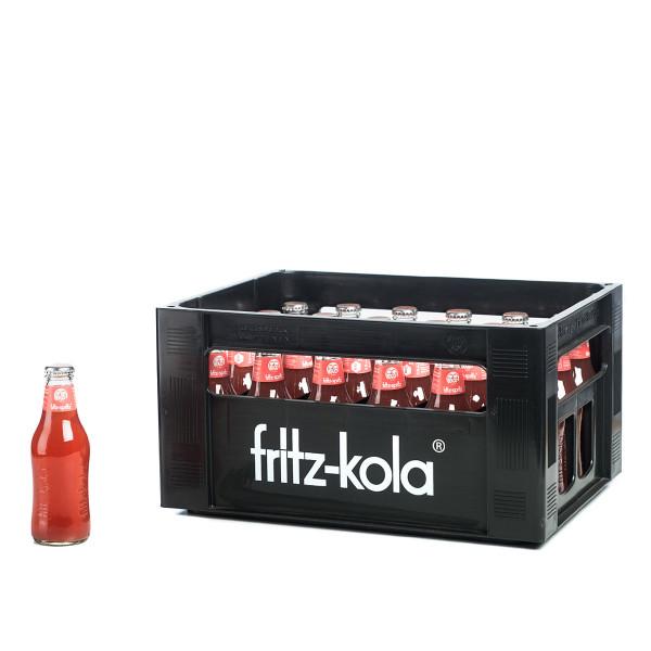 Fritz-Spritz Bio-Rhabarberschorle 24 x 0,2l