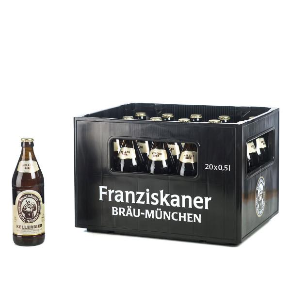 Franziskaner Kellerbier 20 x 0,5l