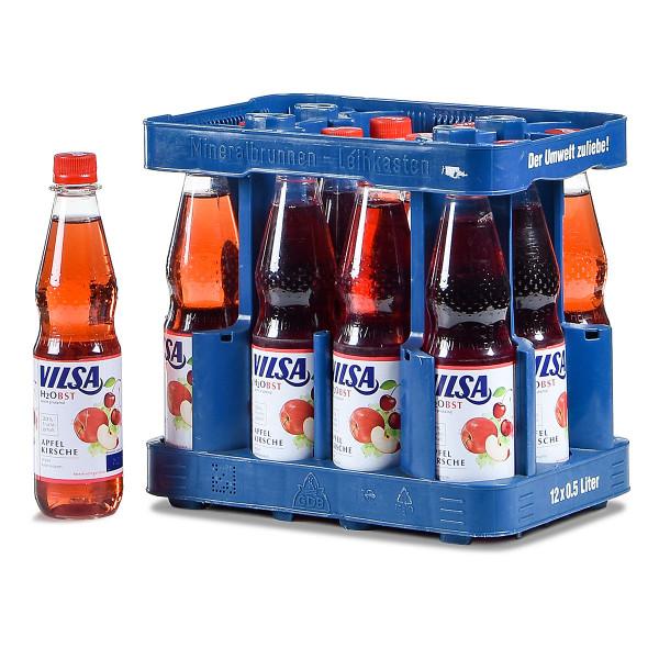Vilsa H2Obst Apfel-Kirsch 12 x 0,5l